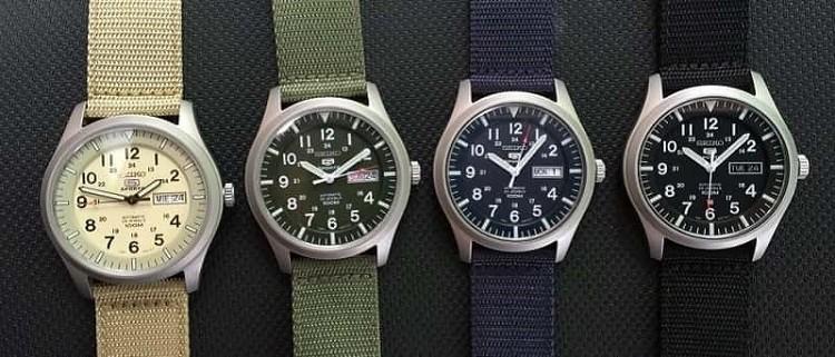 [Review] Giải mã sức hút của đồng hồ Seiko 5 quân đội