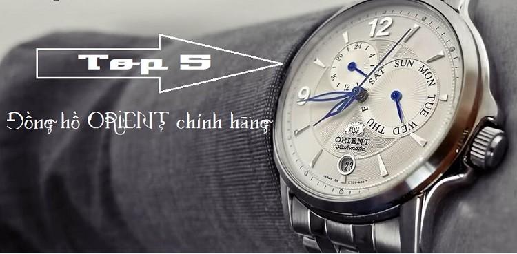 Review top 5 đồng hồ Orient chính hãng không thể bỏ qua 2019
