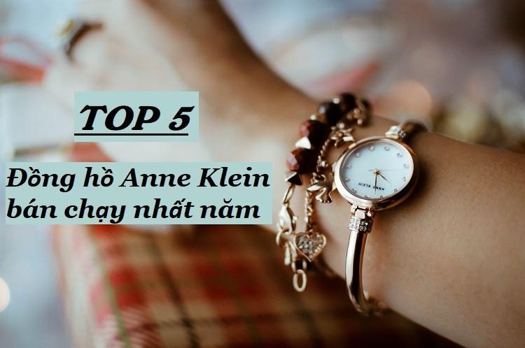 Top 5 đồng hồ Anne Klein bán chạy nhất năm