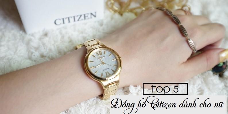Top 5 đồng hồ Citizen Eco Drive dành cho nữ khiến chị em mê mẩn