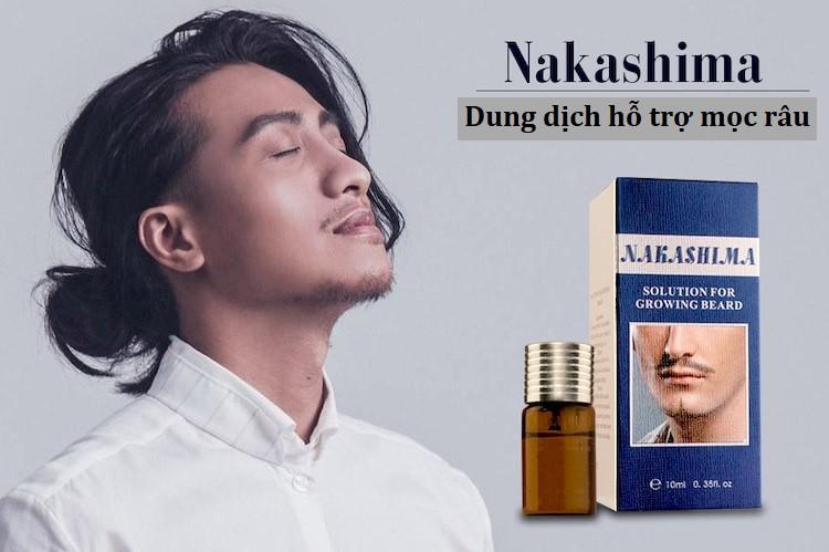 [Review] Dung dịch hỗ trợ mọc râu Nakashima