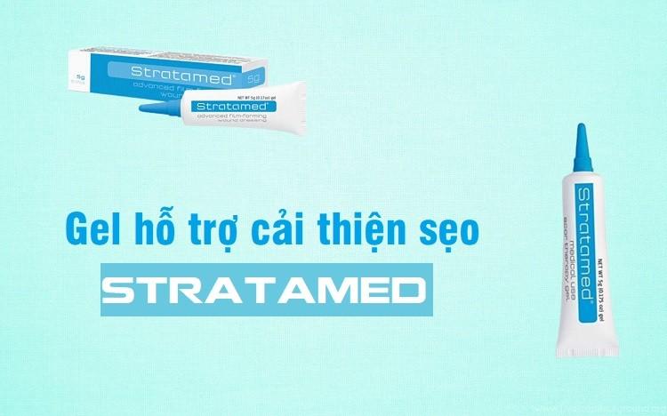 [Review] Gel hỗ trợ cải thiện sẹo Stratamed 5g của Thụy Sỹ