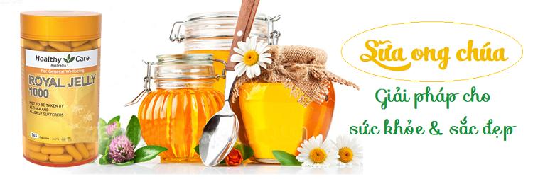 [Review] Sữa ong chúa Healthy Care Royal Jelly 1000mg của Úc có tốt không?