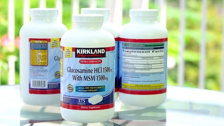 [Review] Viên uống Glucosamine HCl 1500mg có tốt không?