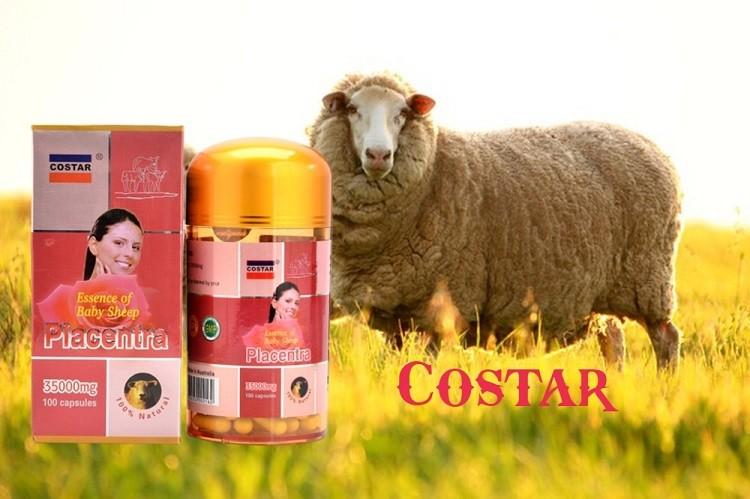 [Review] Viên uống nhau thai cừu Costar của Úc hỗ trợ sức khỏe và sắc đẹp