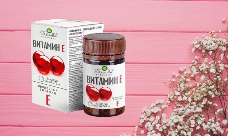 Review Vitamin E Đỏ Mirrolla của Nga có tốt không?