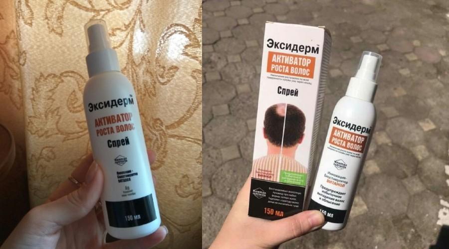 Review xịt hỗ trợ mọc tóc, trị hói Eksiderm