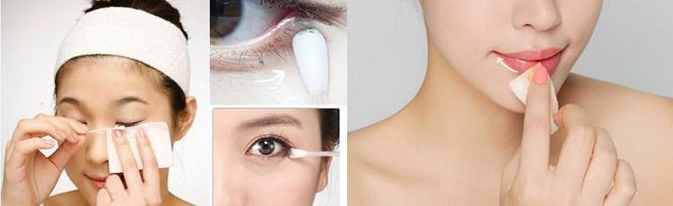 Các bước tẩy trang mắt môi đúng cách mà chị em nào cũng nên biết