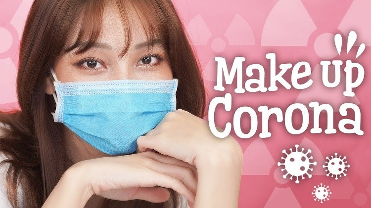 Hot trend trang điểm mùa dịch Corona với khẩu trang