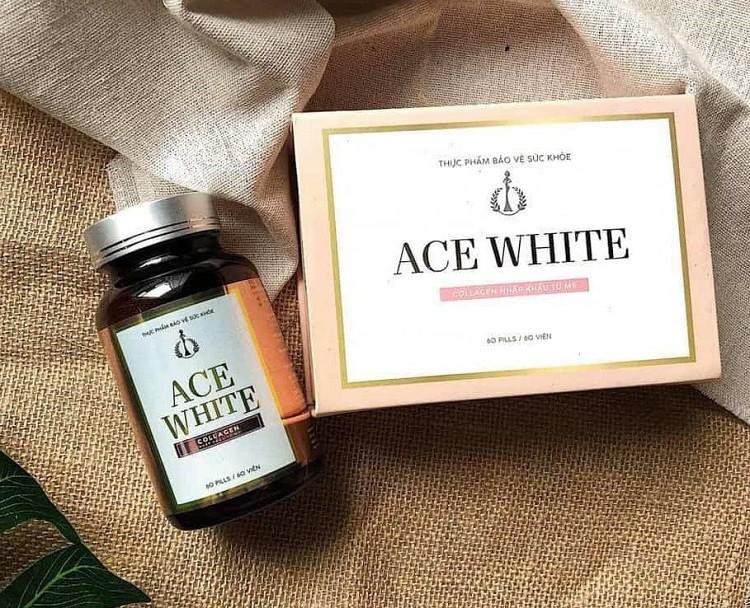 viên uống trắng da ACE White review có tốt không