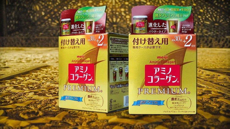Review Collagen Meiji Premium dạng bột chi tiết
