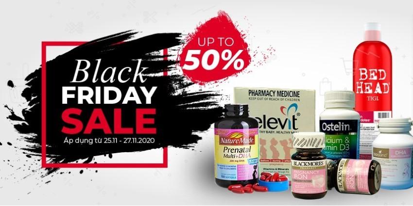 DailyVita.vn sale shock ngày Black Friday - Lên tới 50% giá trị các sản phẩm làm đẹp