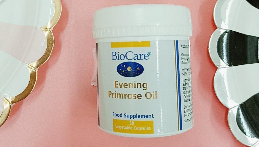 Review tinh dầu hoa anh thảo Biocare Evening Primrose Oil