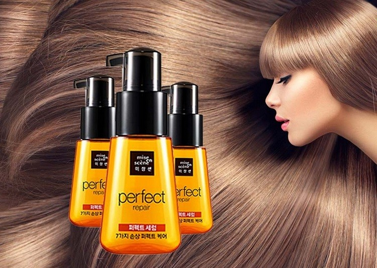 Review tinh dầu dưỡng tóc Mise En Scene Perfect Serum