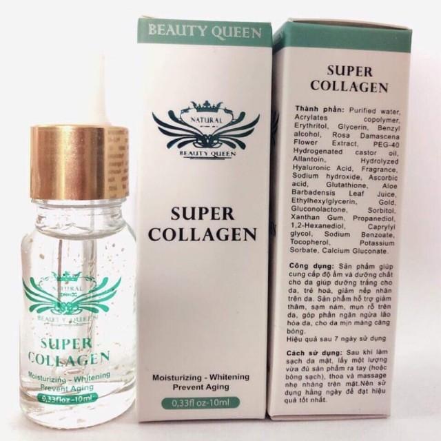 [VẠCH TRẦN] Serum Super Collagen Beauty Queen có tốt không?