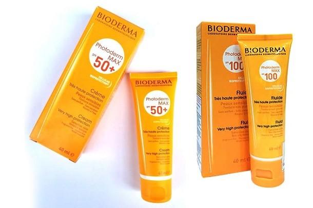 Review 3 dòng kem chống nắng Bioderma có tốt không?
