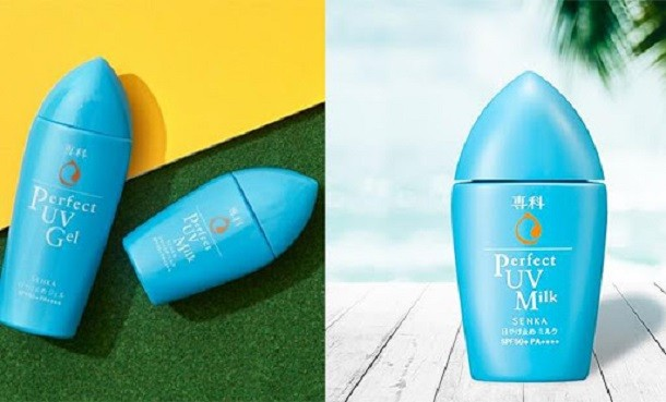 Review kem chống nắng Senka Shiseido Nhật Bản có tốt không?