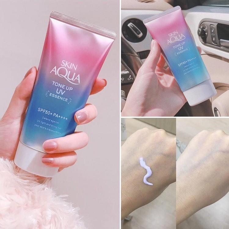 Skin Aqua Tone Up UV Essence SPF 50+ PA++++