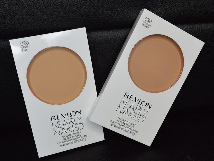 Phấn phủ kiềm dầu Revlon Nearly Naked Powder