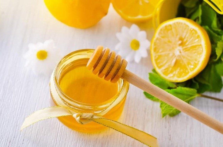 mật ong tẩy da chết