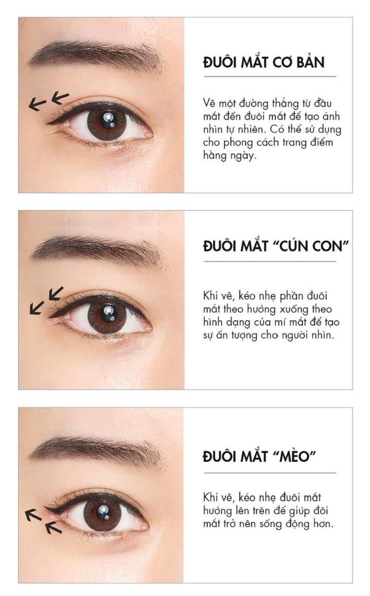 các kiểu kẻ mắt