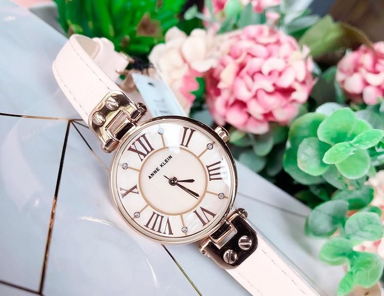 Đồng hồ đính đá Anne Klein AK/2240RGST