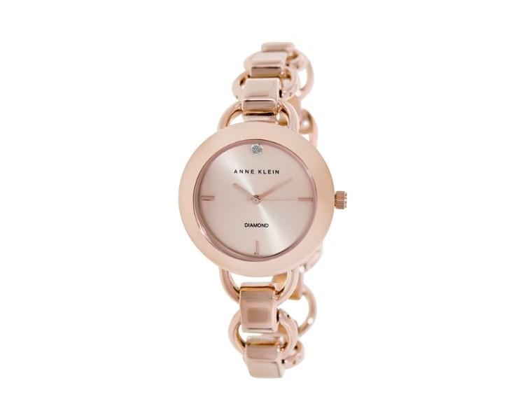 Đồng hồ vàng đồng Anne Klein AK/1384RGRG