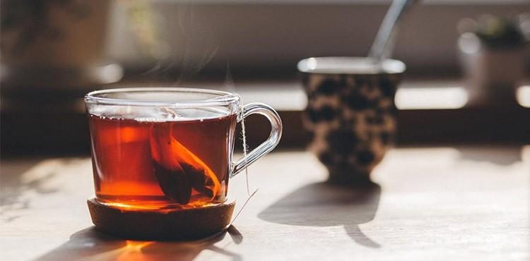 Trị quầng thâm bằng trà túi lọc