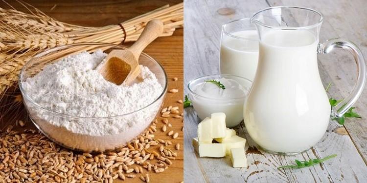 cám gạo sữa tươi