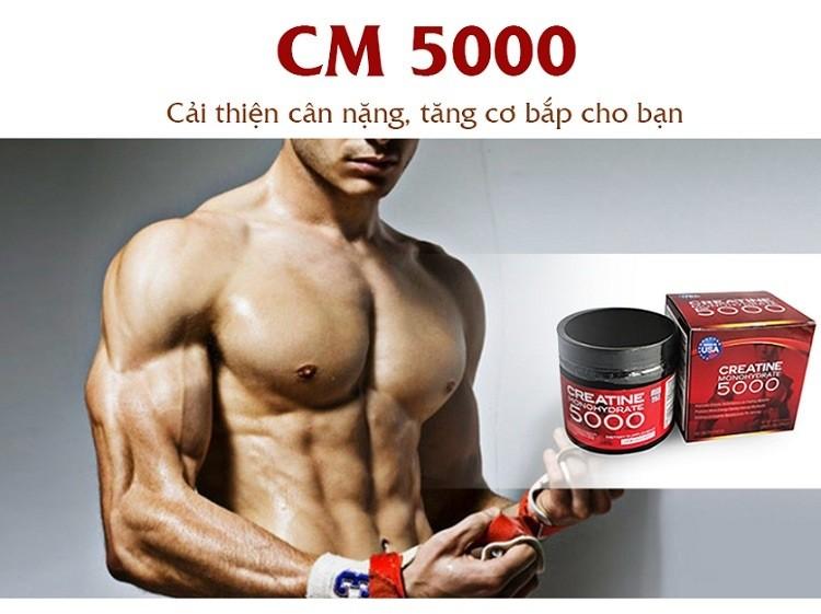 tăng cơ Creatine Monohydrate 5000