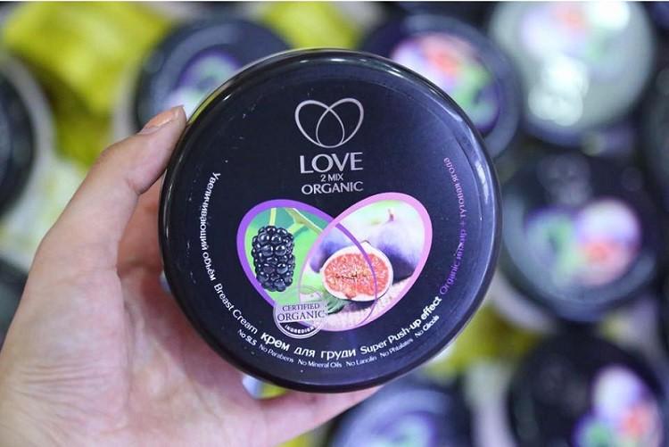 Kem nở ngực Love 2mix Organic