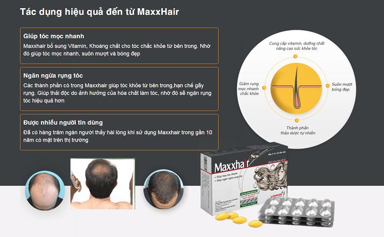 công dụng viên maxxhair