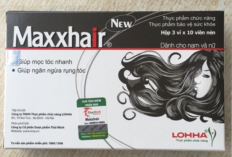maxxhair chính hãng