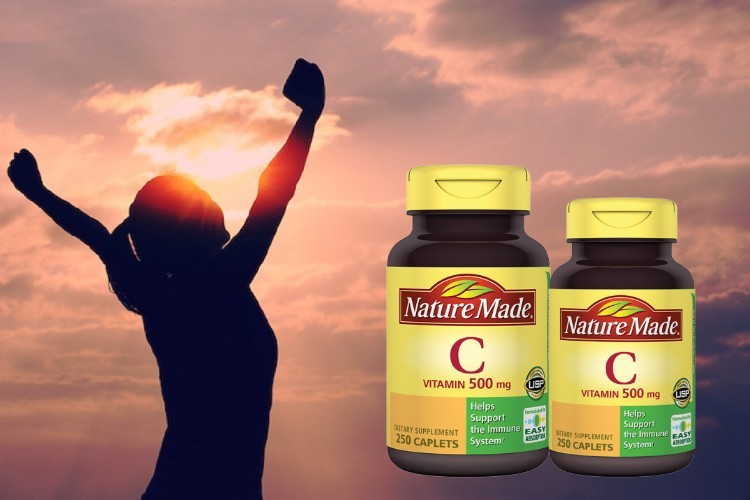 Nature Made Vitamin C 500mg