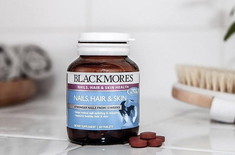 Viên uống Blackmores Nail, Hair & Skin