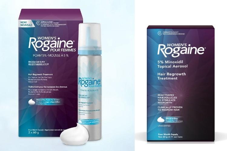 Dung dịch hỗ trợ mọc tóc Minoxidil cho nữ