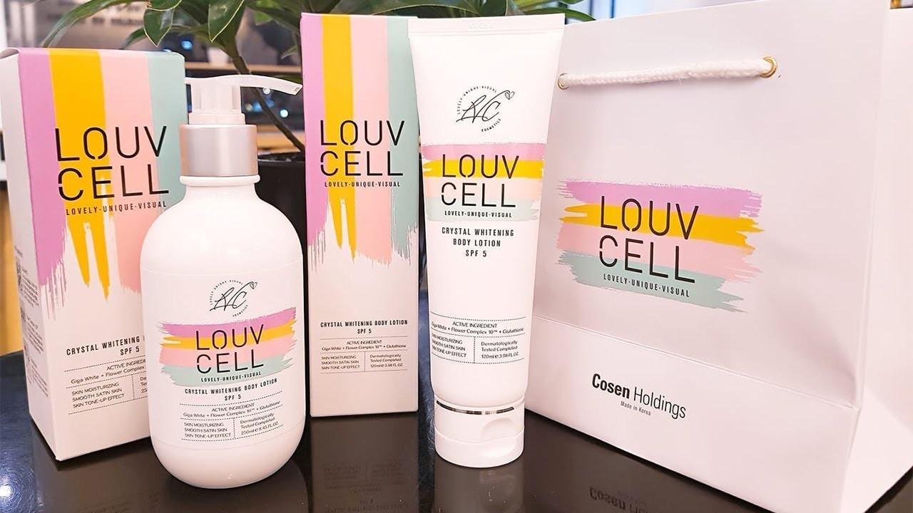 Sữa dưỡng thể trắng da Body Louv Cell