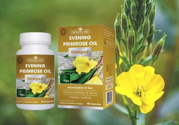 Natures Aid Evening Primrose Oil