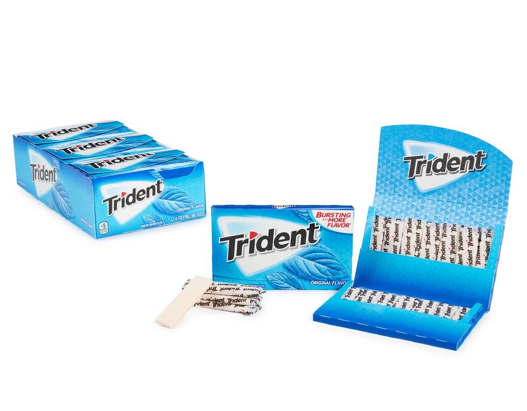 Kẹo cao su Trident số 1 tại Mỹ