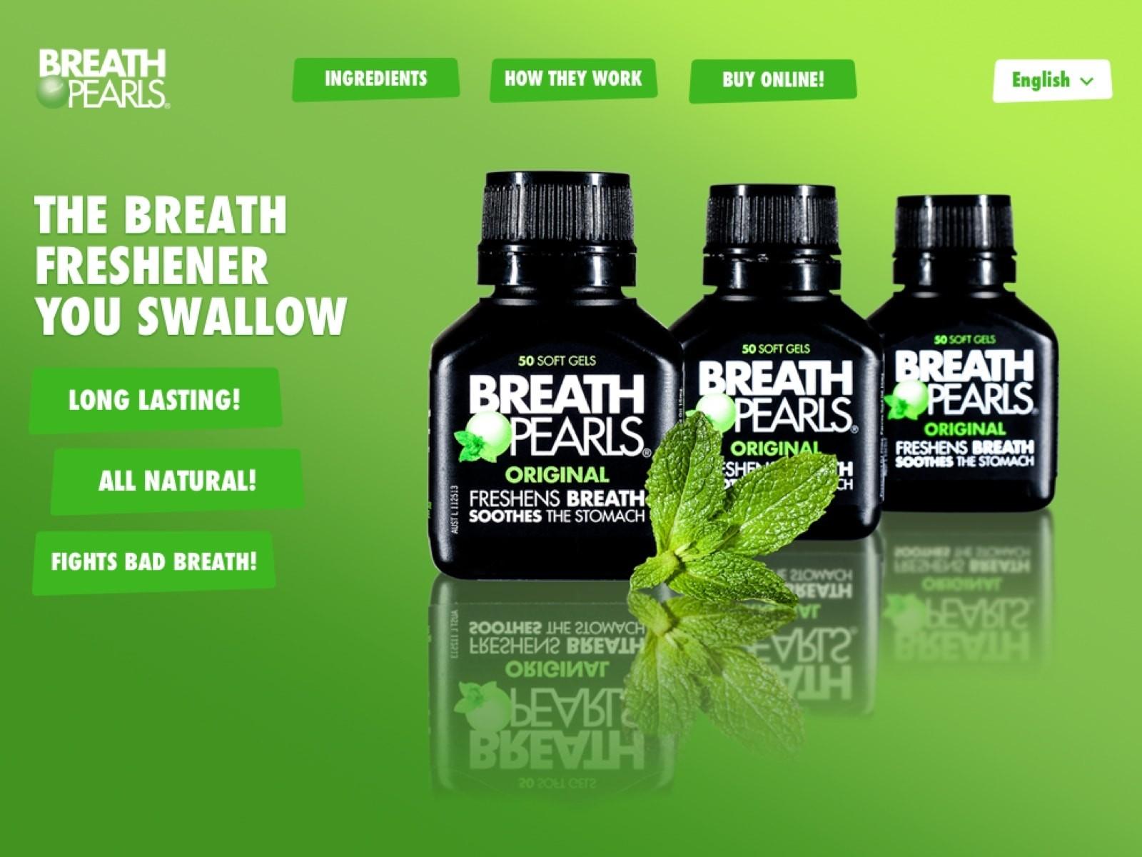 Viên uống hỗ trợ thơm miệng Breath Pearls