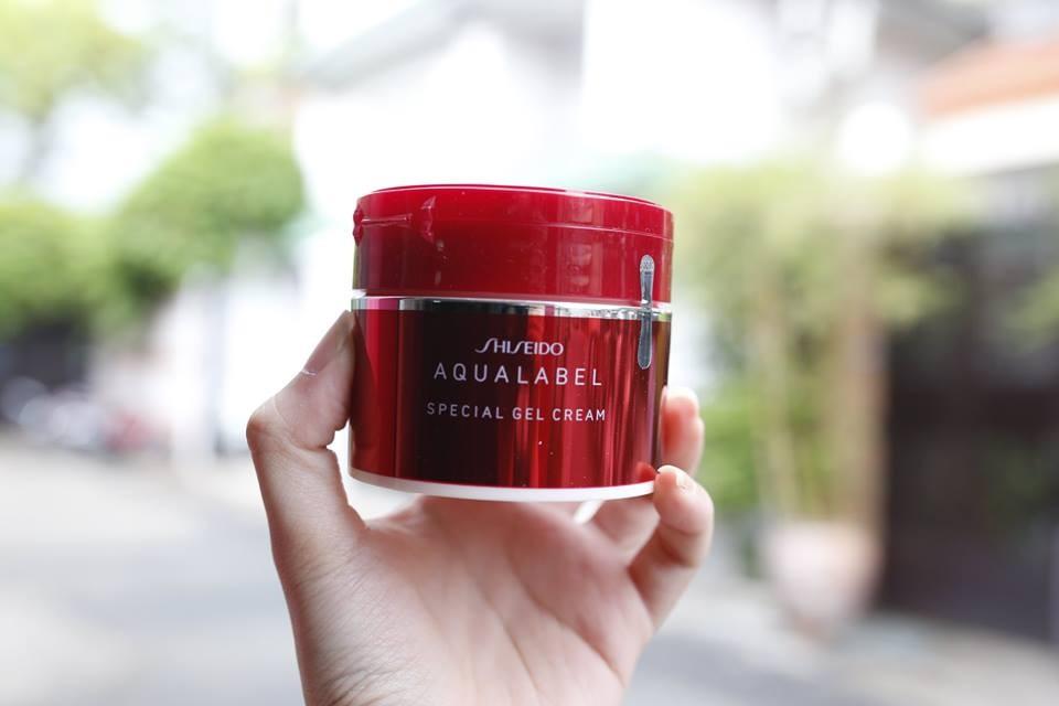 Kem dưỡng ẩm Shiseido Aqualabel đỏ