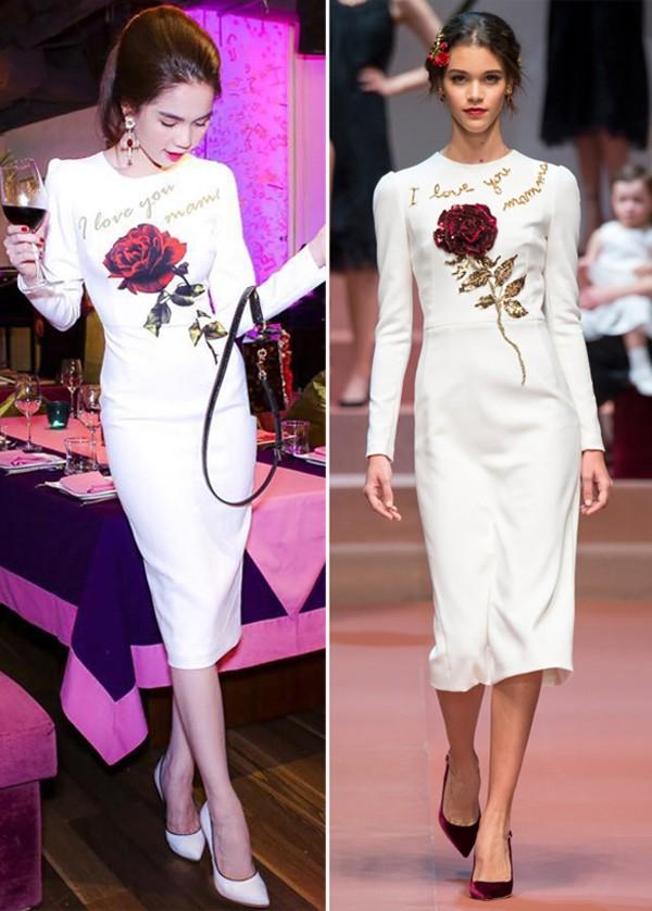 Mẫu váy của D&G