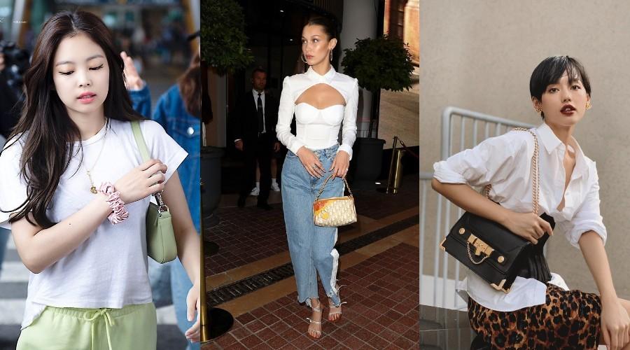"""Có khá nhiều ngôi sao quốc tế nhiệt tình """"lăng xê"""" cho thương hiệu chiếc túi kẹp nách này"""