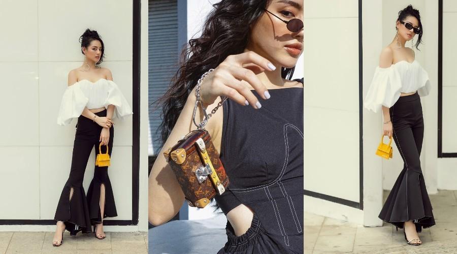 Khánh Linh cũng sở hữu không ít túi siêu nhỏ với giá siêu khủng