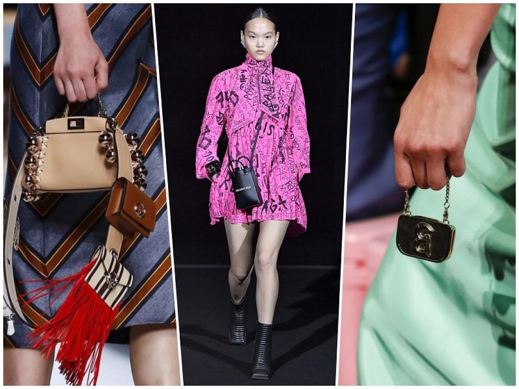 Jacquemus mang túi siêu nhỏ nằm trong bộ thời trang thu đông 2019 - 2020
