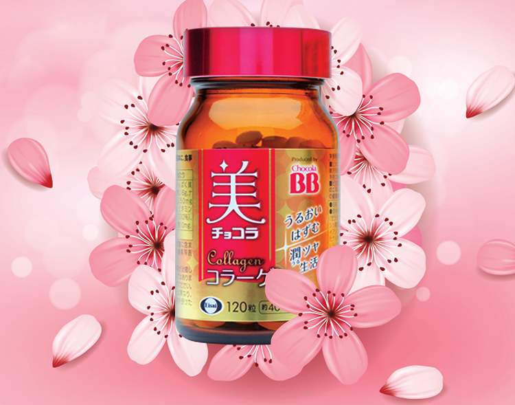 BB Chocola Collagen Nhật Bản