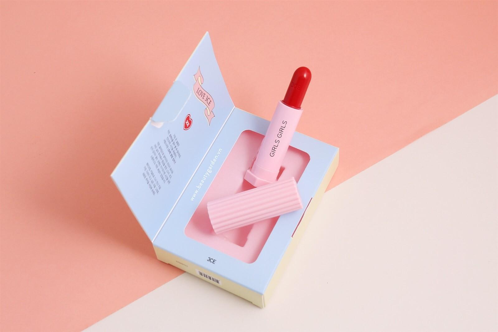 Son lì Love 3CE Velvet Lipstick