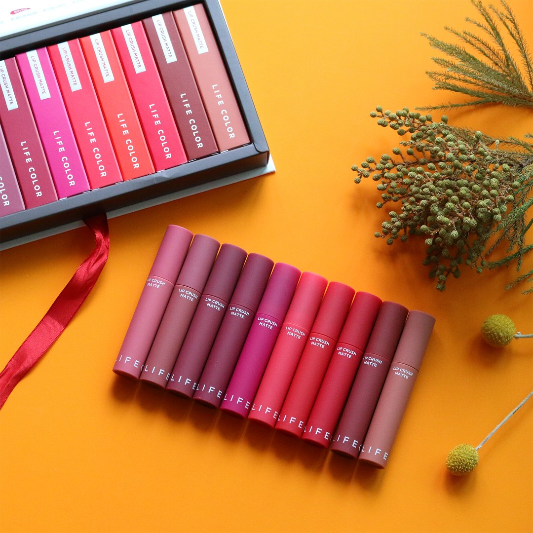 Son kem lì It's Skin Life Color Lip Crush Matte