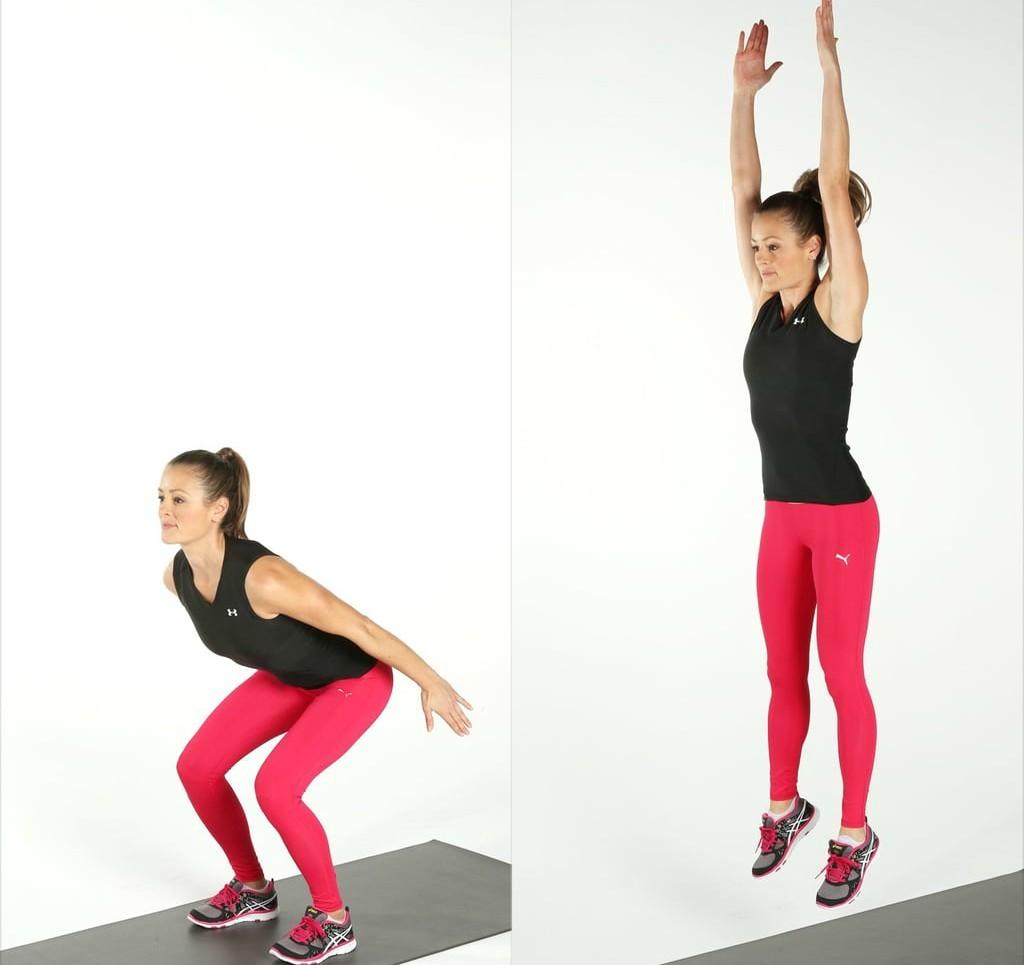 Bài tập Jump Squats