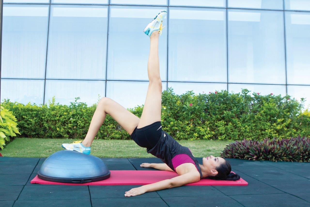 Áp dụng các bài tập giảm bắp chân